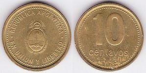 Argentina10centavos1992