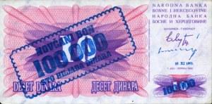 BOSNIA100000DINARS1993IIAV