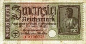 GERMANY20REICHMARK1940AV
