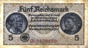 GERMANY5REICHMARK1940AV