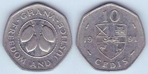 Ghana10cedi1991