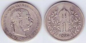 Austria1krone1895